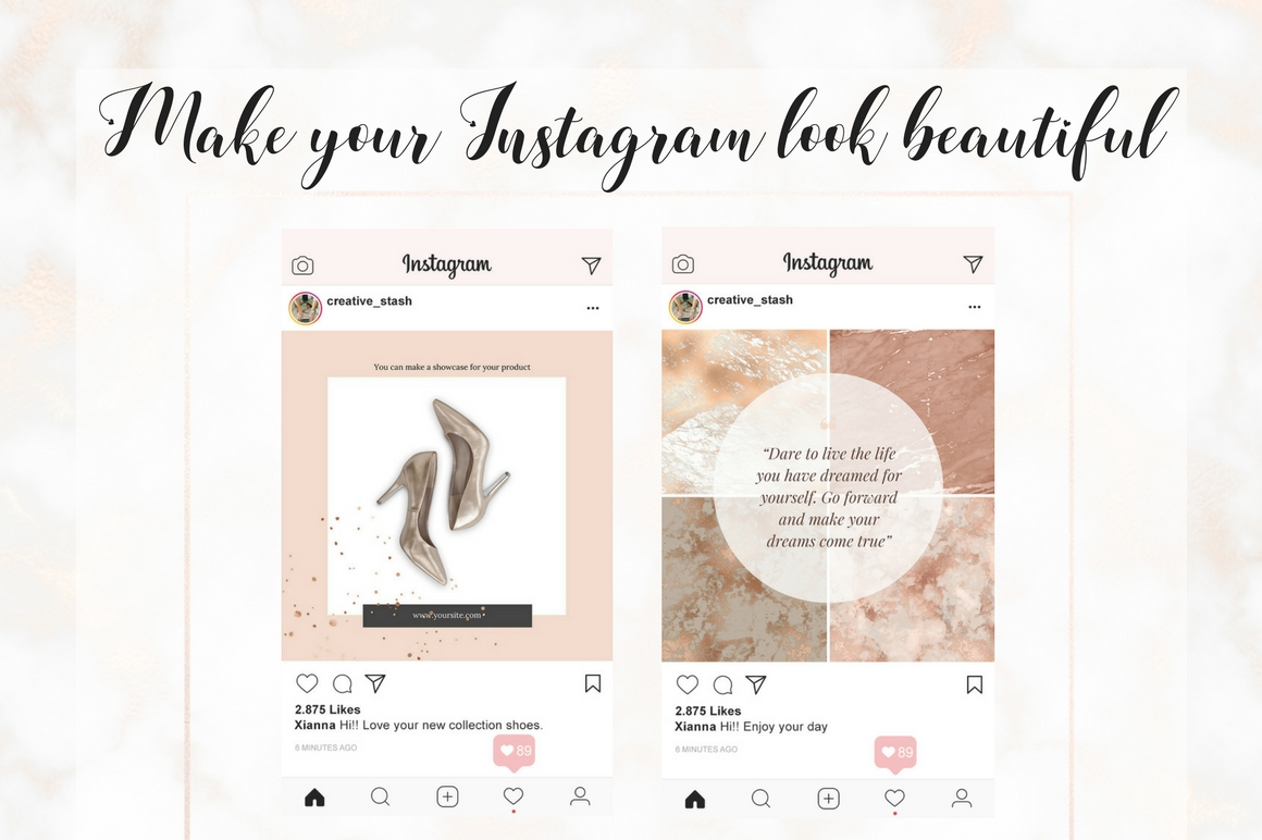 Instagram Rose gold part 1 example image 4