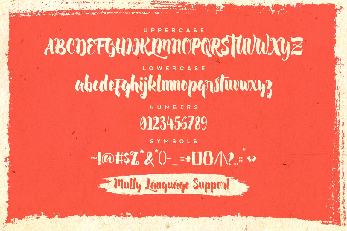 Lambreta Typeface example image 2