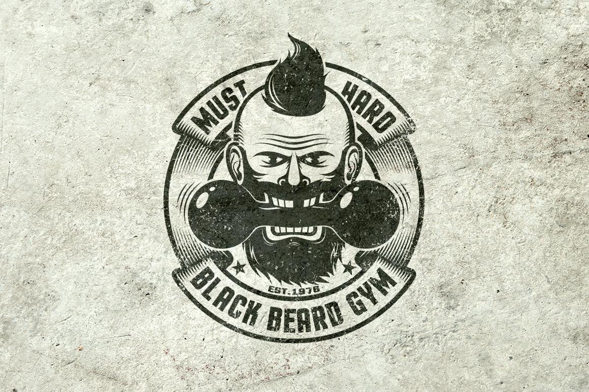 Gym Retro Logo 2 example image 5