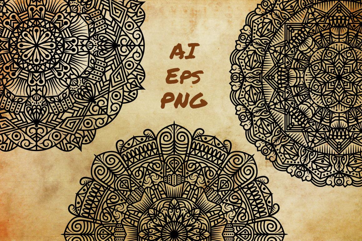 Mandala Art (Contemporary Style) example image 2