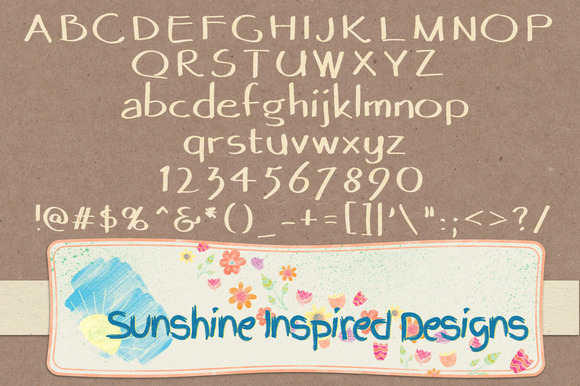 Font No.13, No.14 and No.15 example image 3