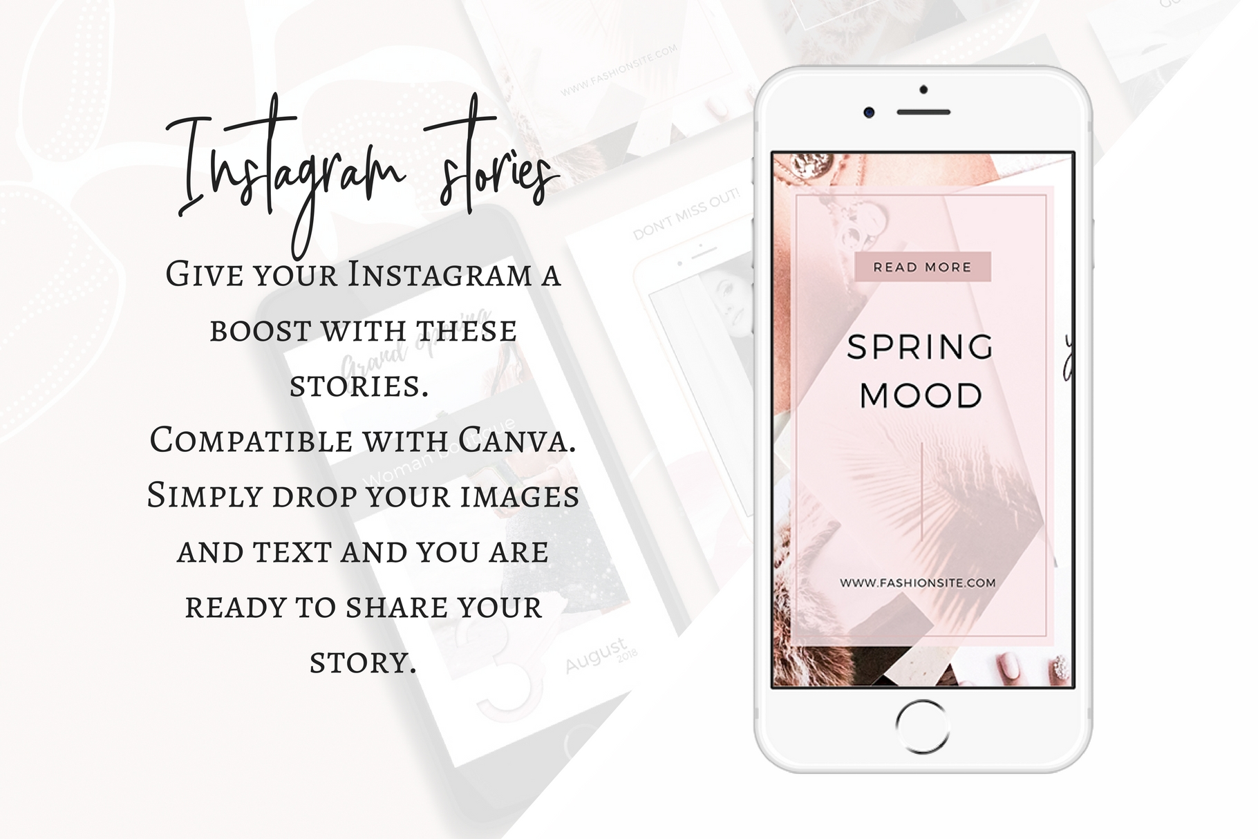 Instagram stories -Style- Shopping example image 4