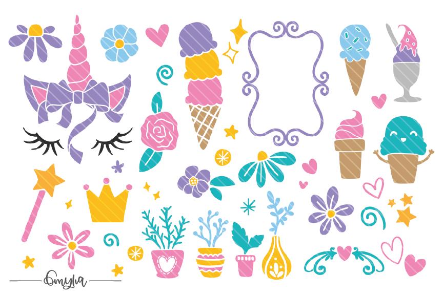 Cutie Pie Font ++ Designs Bonus!  example image 2