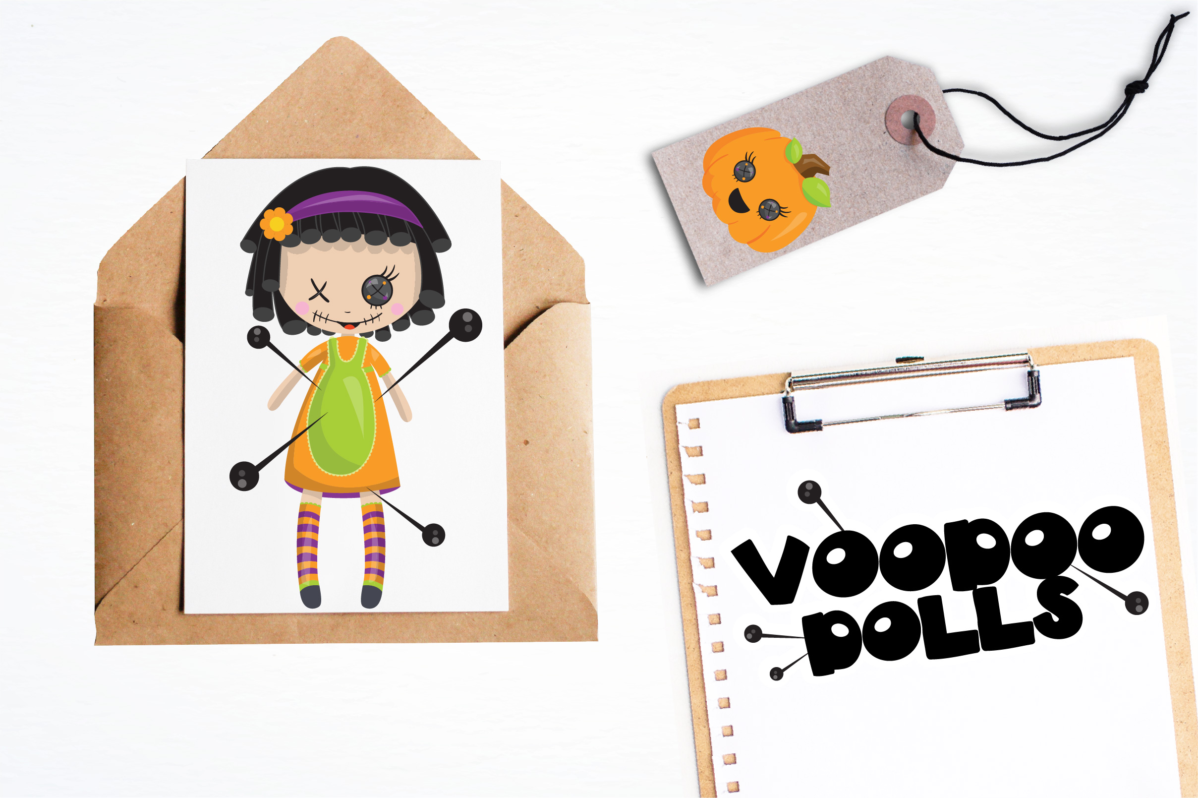 Voodoo dolls graphics and illustrations example image 4