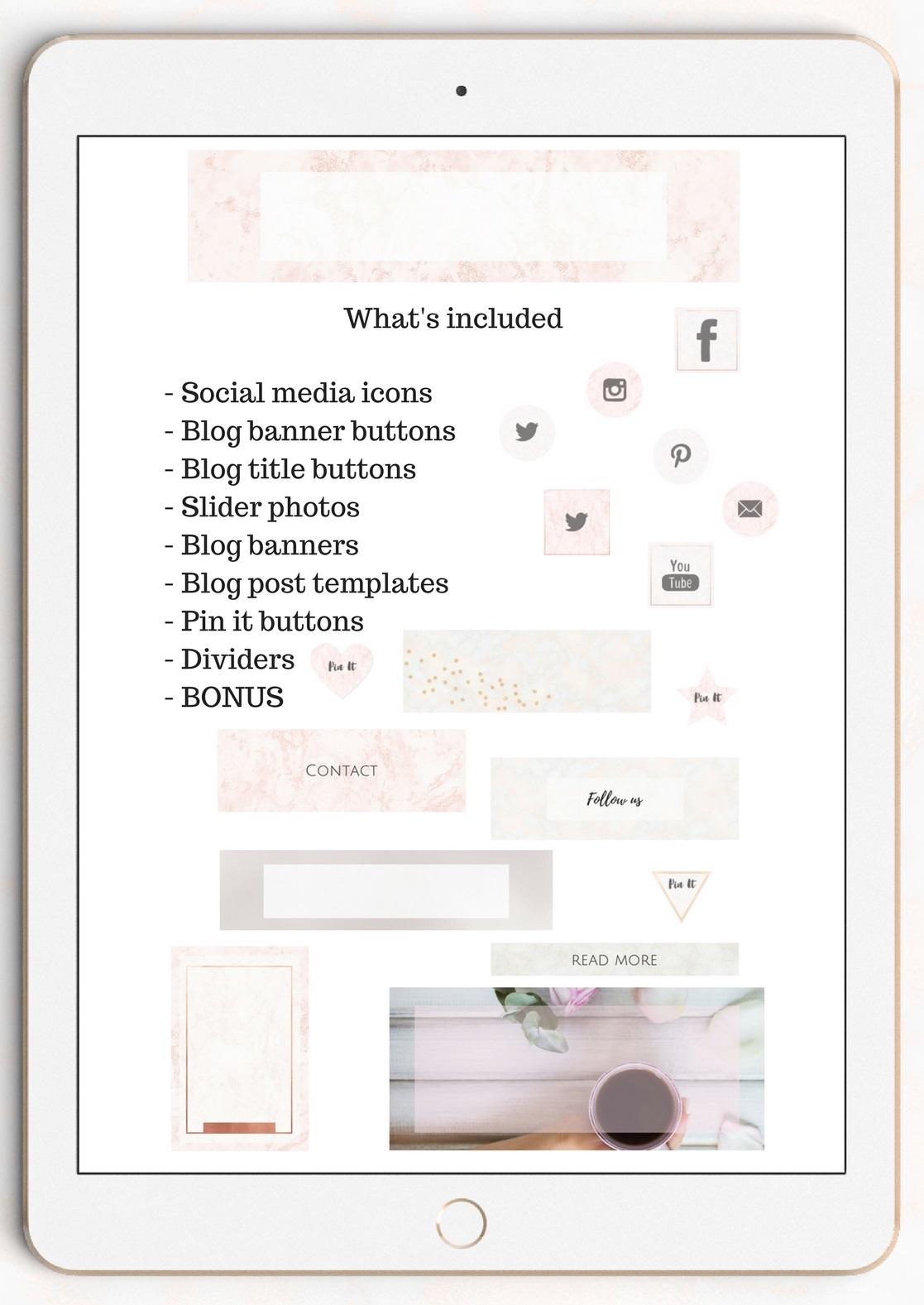 The Creative blog kit example image 5