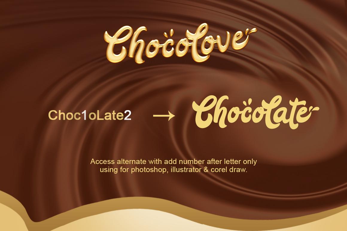 ChocoLove Script example image 2