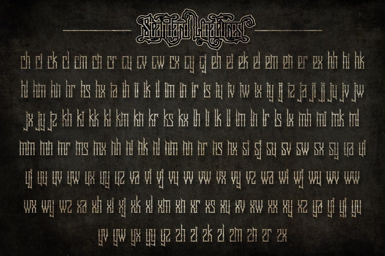 Sadis Typeface + Extras example image 4
