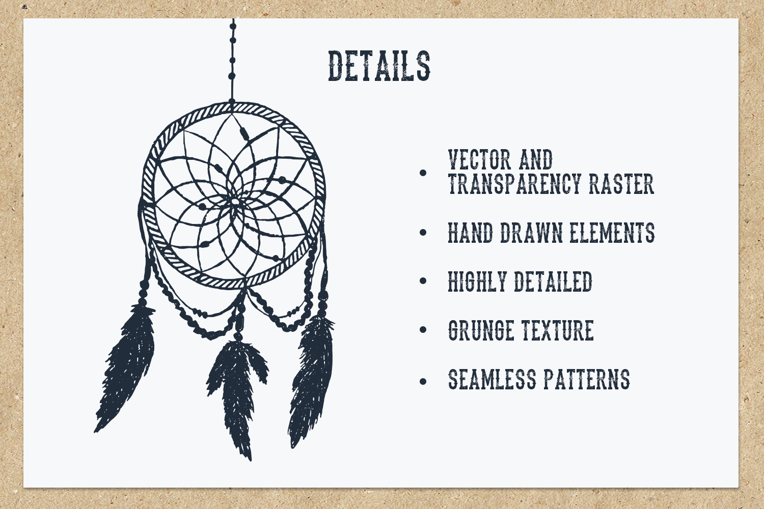 Native Spirit. 55 Hand Drawn Objects example image 3