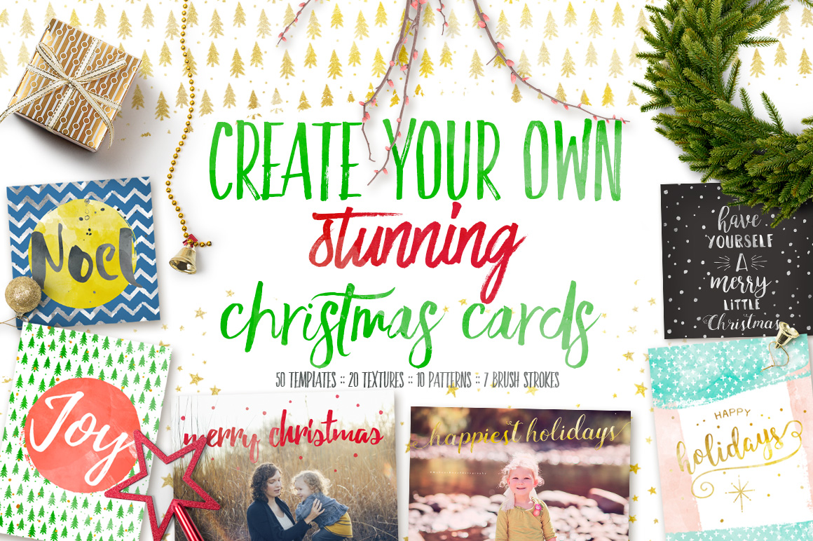 Design your own Christmas Cards example image 1