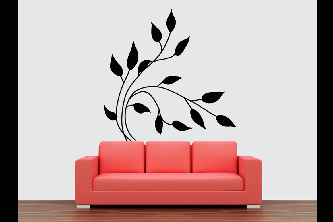 Wall art / decals / poster Mockup v1 example image 3