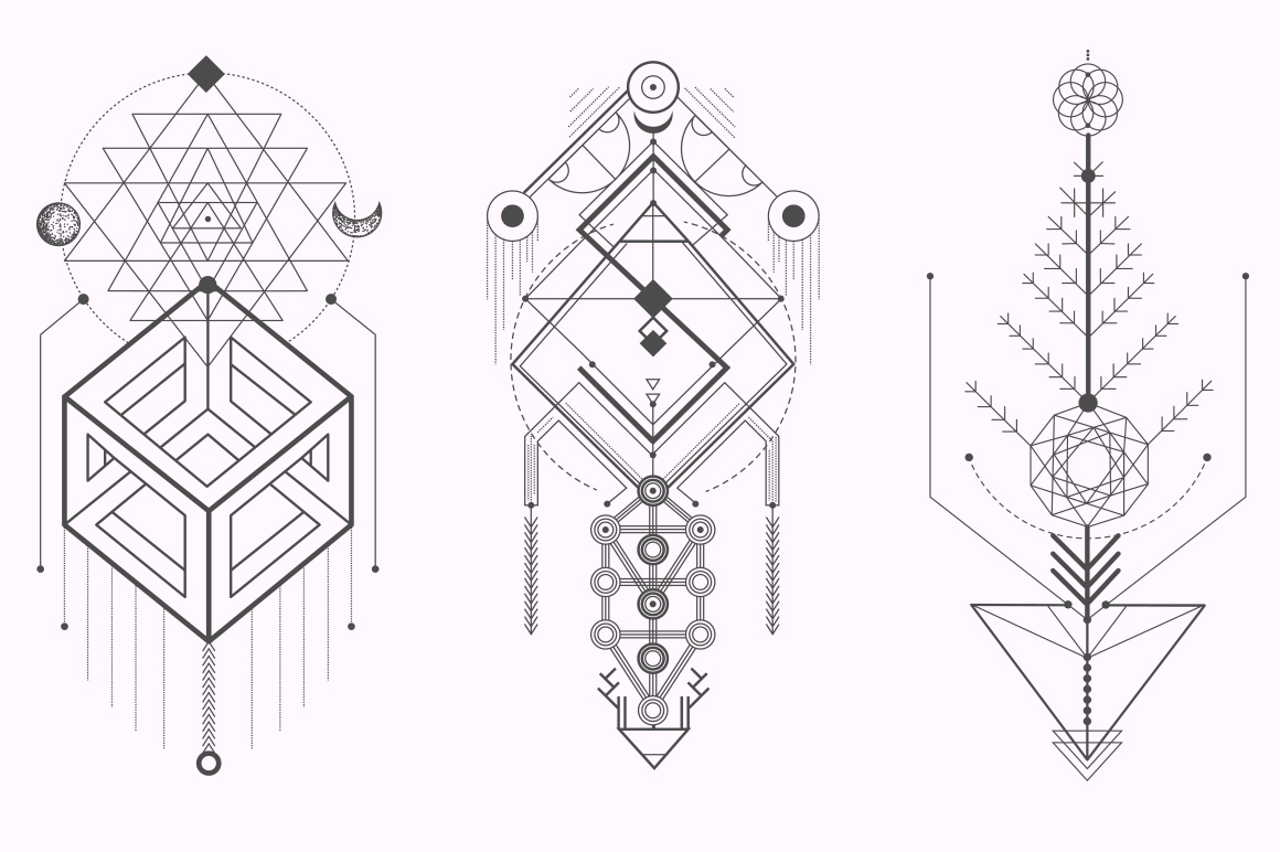 Sacred Geometry. Magic totem vol.2 example image 5