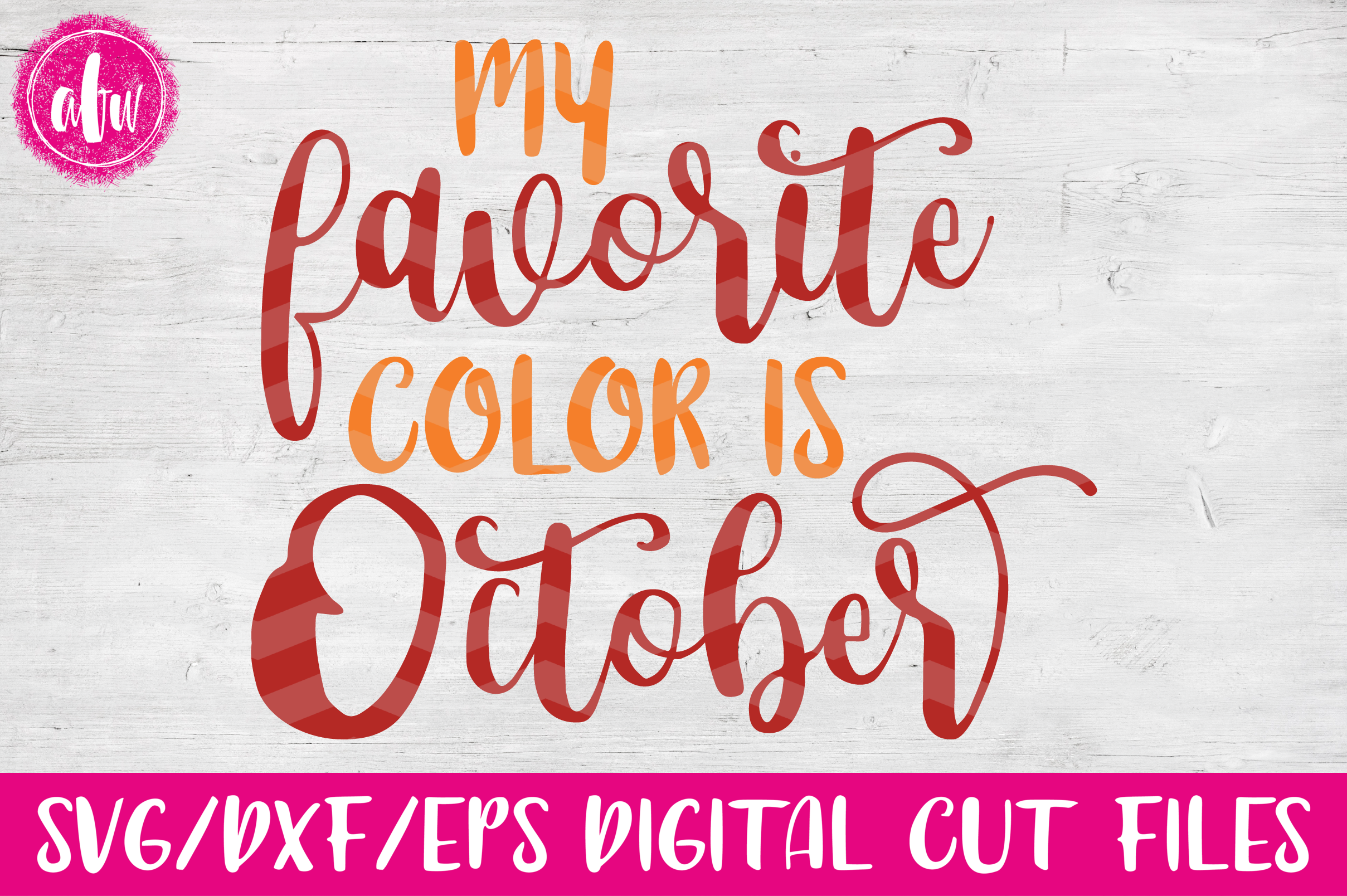 Fall Bundle - SVG, DXF, EPS Cut Files example image 9