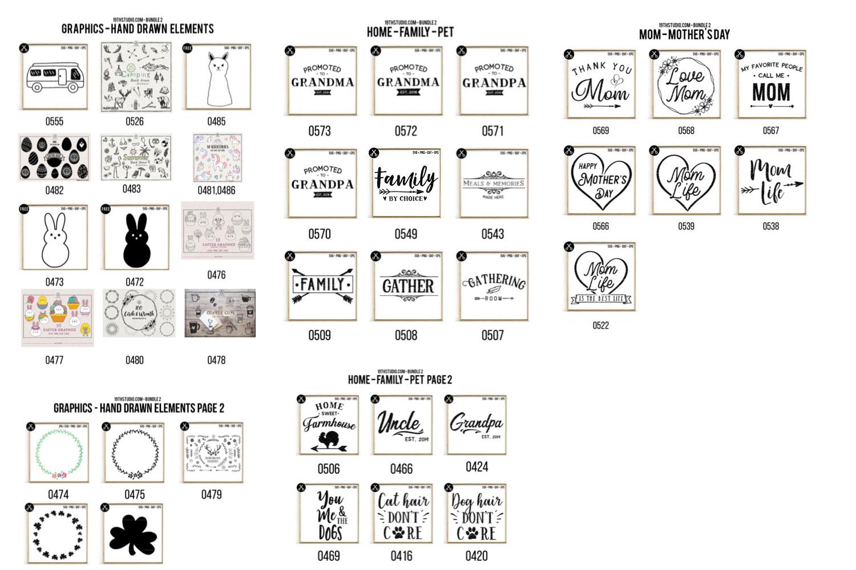 SVG Bundle 2 - 19thstudio example image 4
