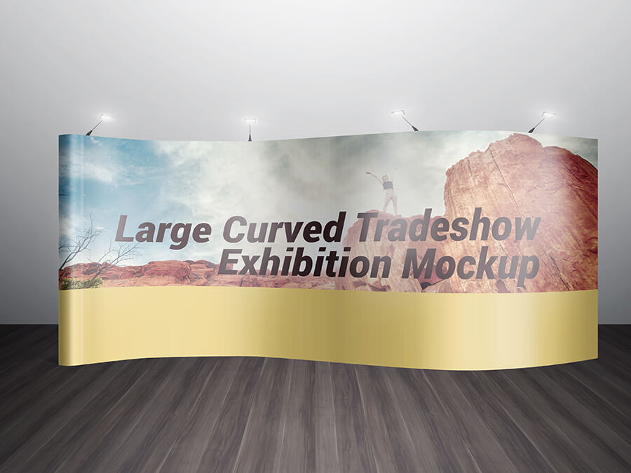VARIOUS TRADESHOW EXHIBITION BOOTH MOCKUPS example image 6