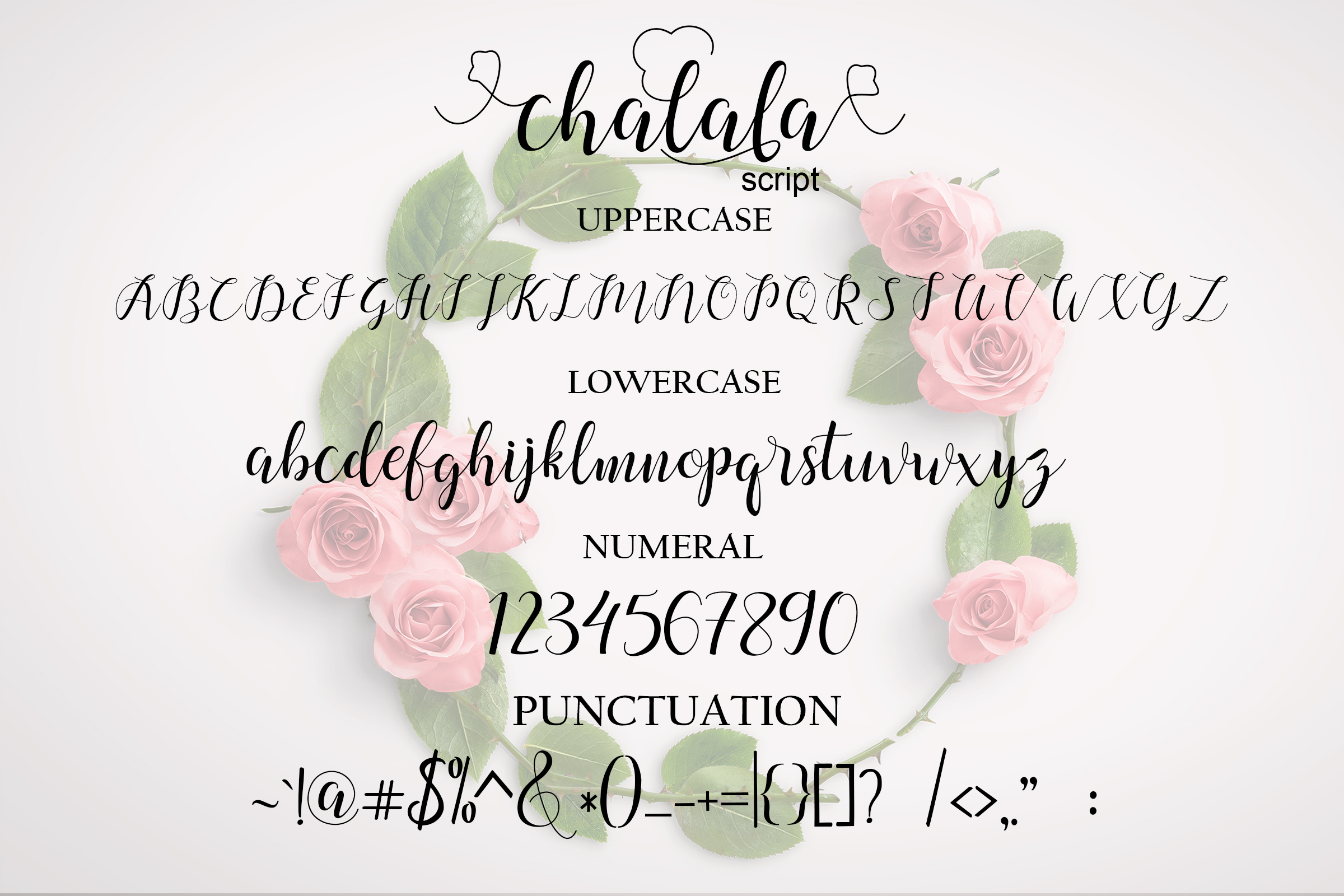 Chalala Script example image 8