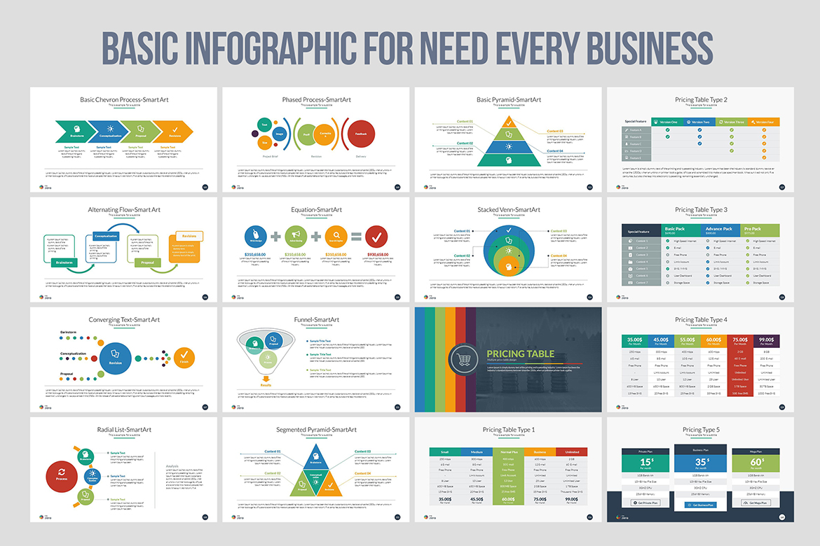 infographic in powerpoint