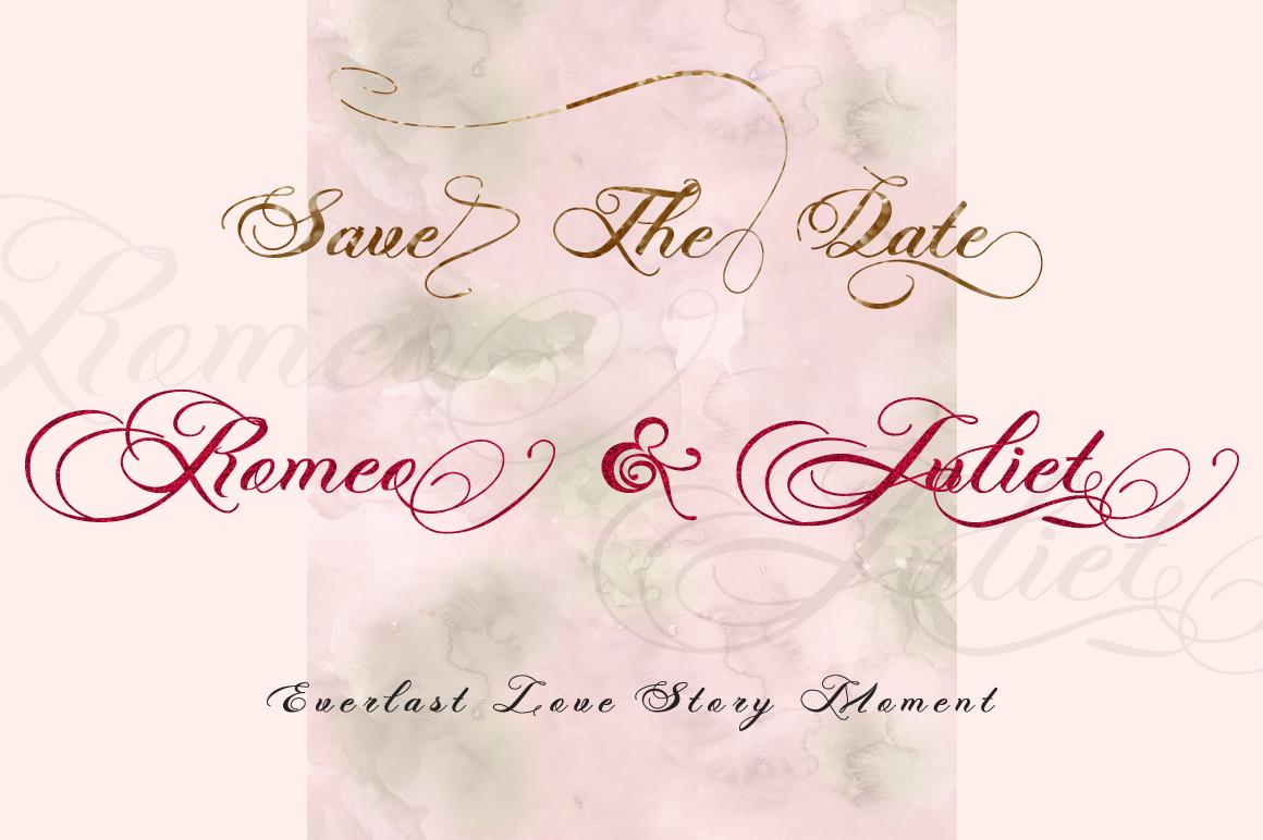Photograph - Script Wedding Font example image 7