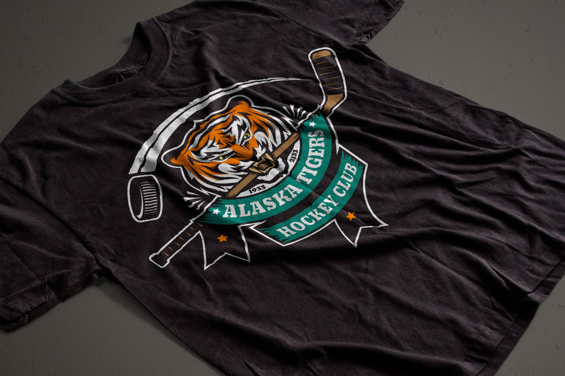 Tiger Mascot Template example image 4