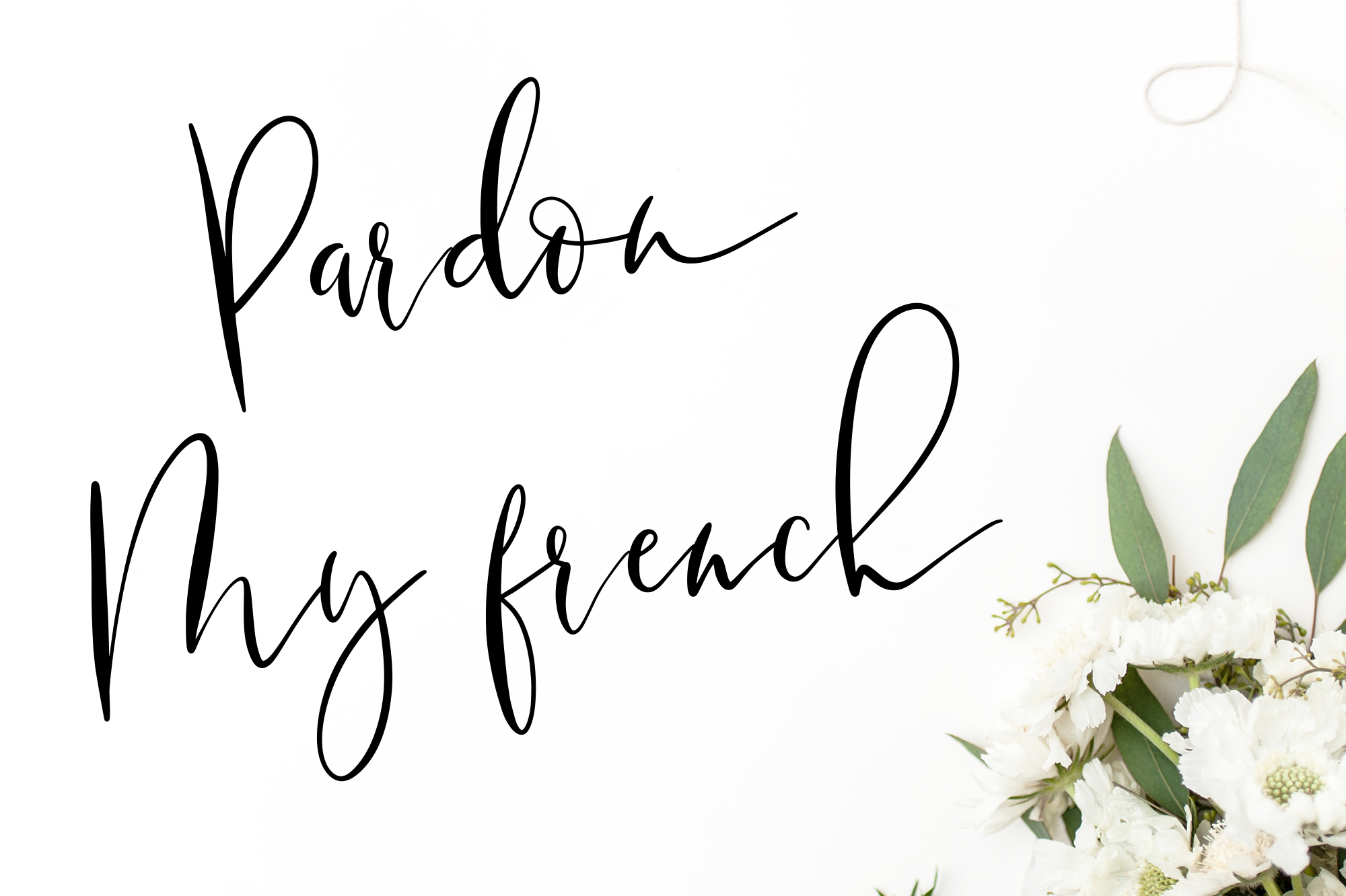 Wild Moon - Casual Script Font example image 4