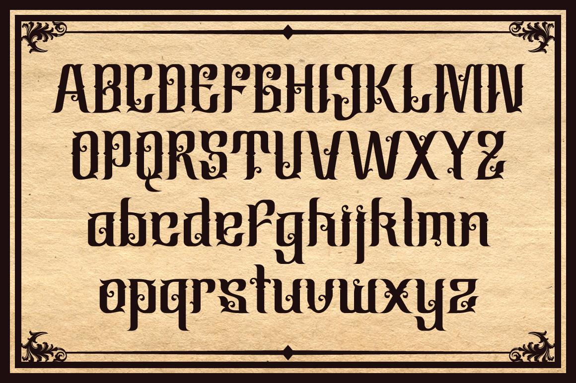 Cindo Kato Typeface example image 3
