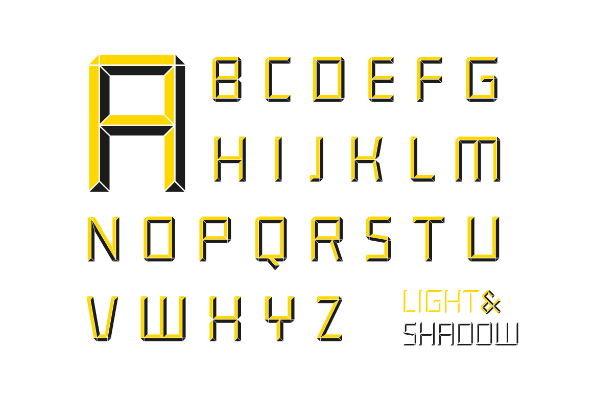 Construct family font example image 4