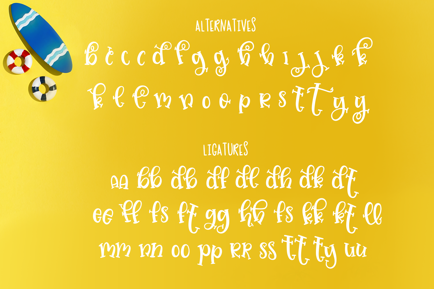 Jellysea - Font Duo + Summer Doodles example image 9