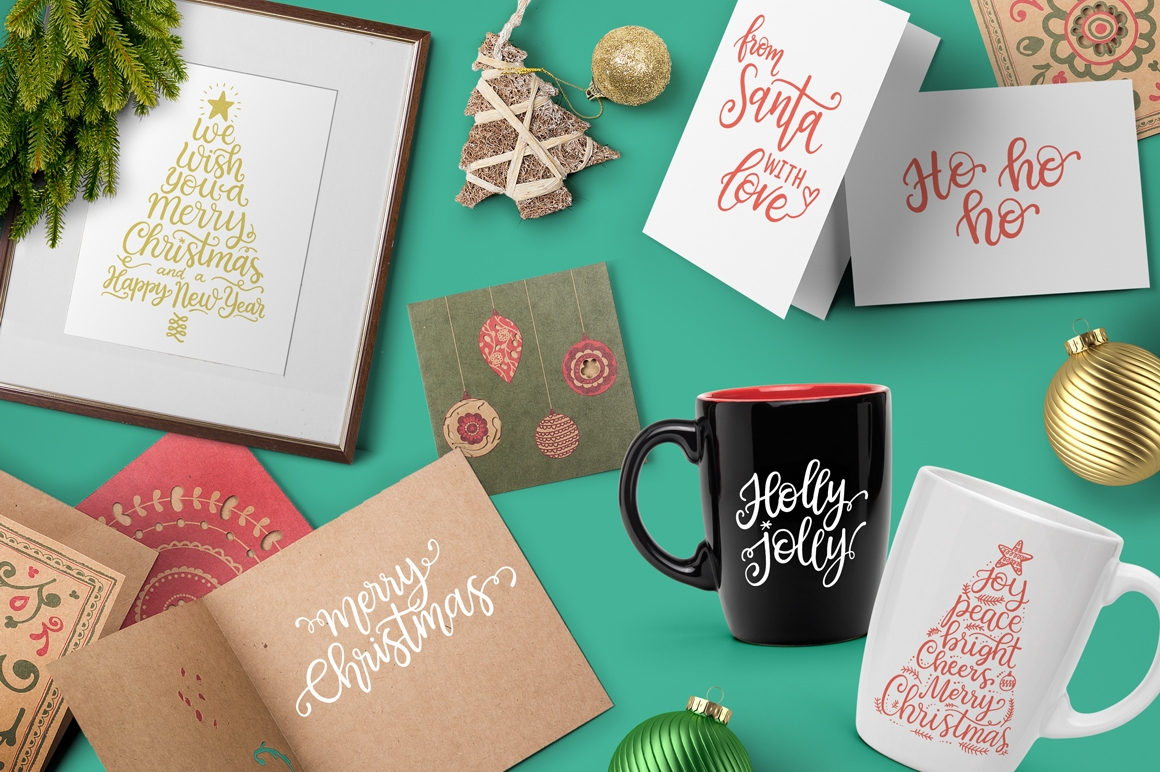 Christmas Overlays Set from Santa example image 5