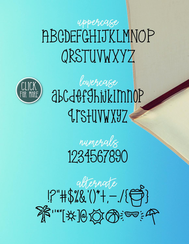 Sunny Beach a Handwritten Typeface example image 2