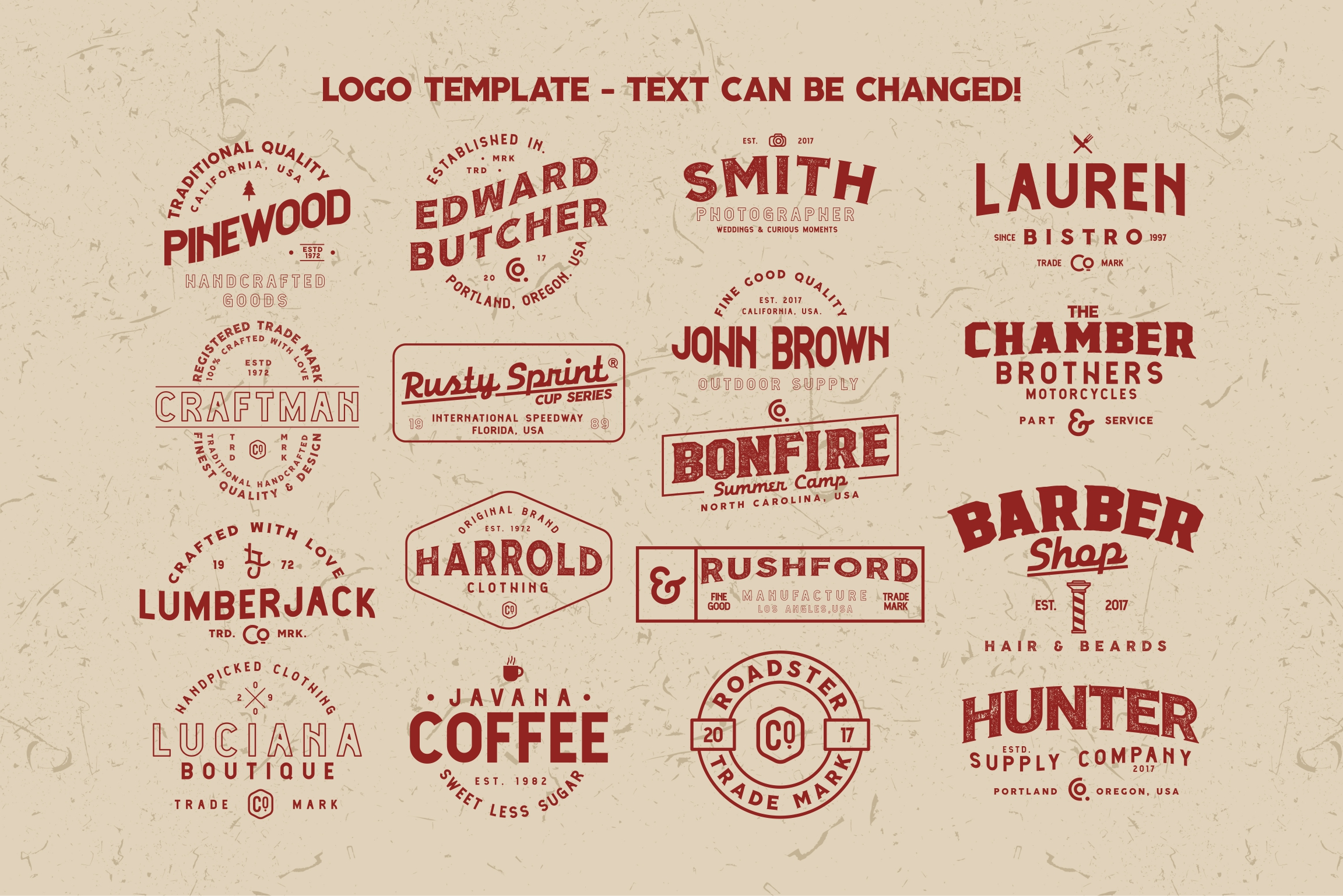 Harrold Font Family & Vector Collections example image 5