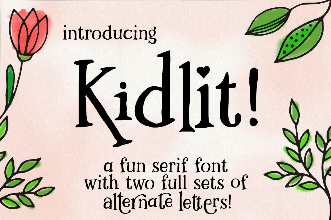 Kidlit: main hero image