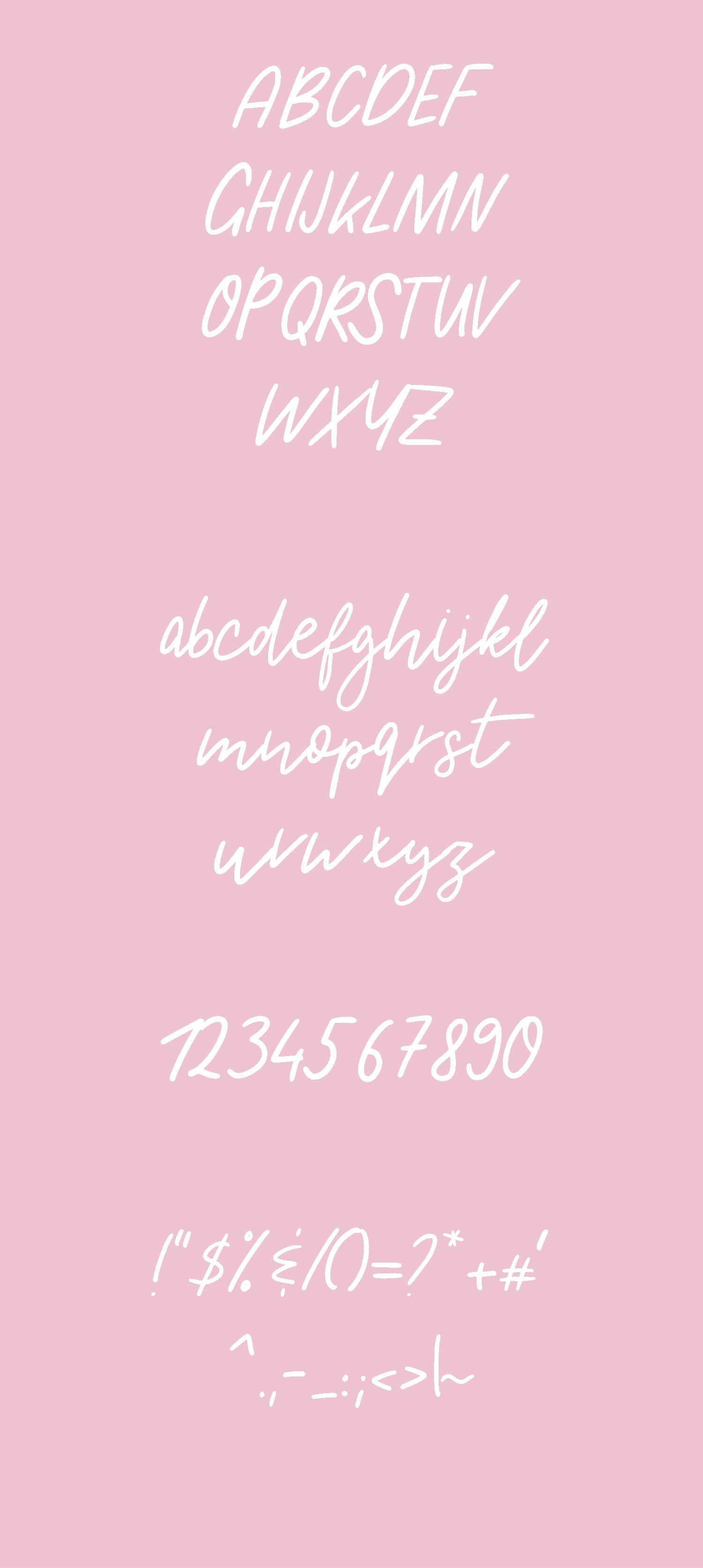 Magnolia Typeface example image 2