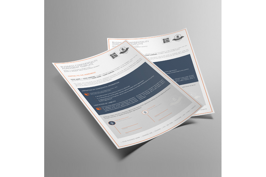 Business Confidentiality Agreement Template example image 4