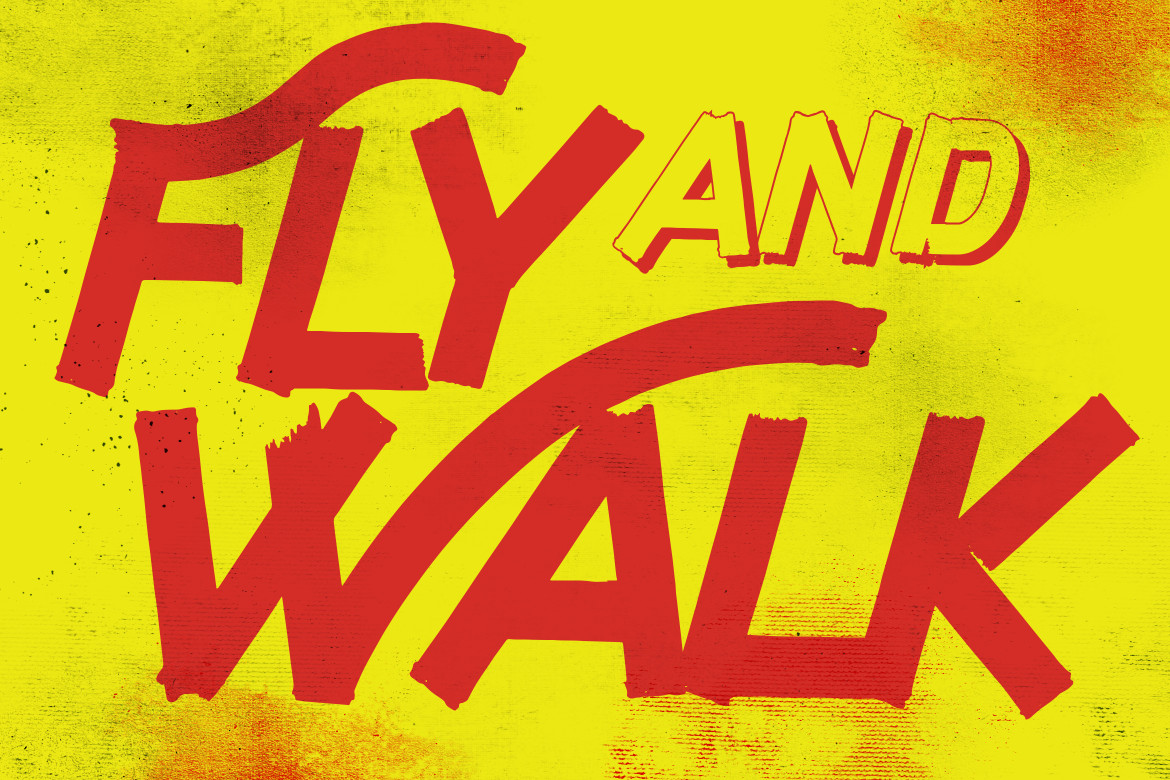 Fly and Walk Typeface example image 6