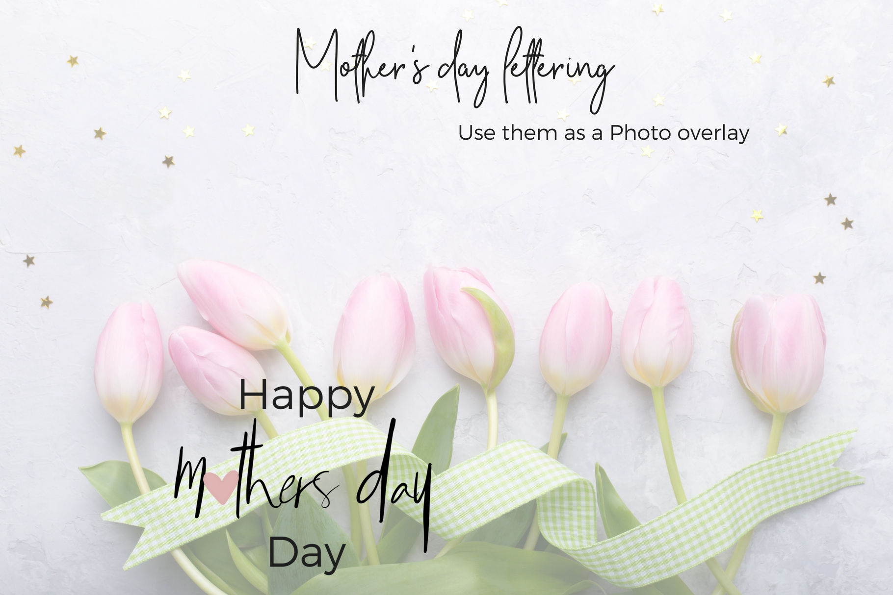 Mother's Day Lettering example image 7