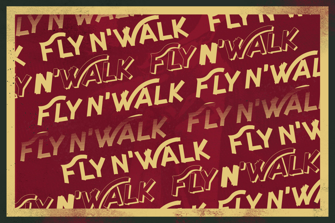Fly and Walk Typeface example image 9