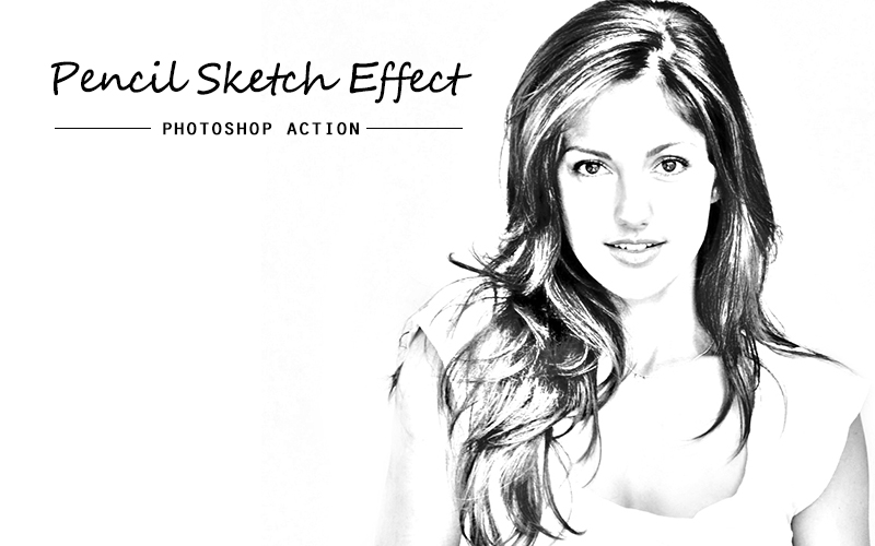Pencil sketch photoshop action example image 4