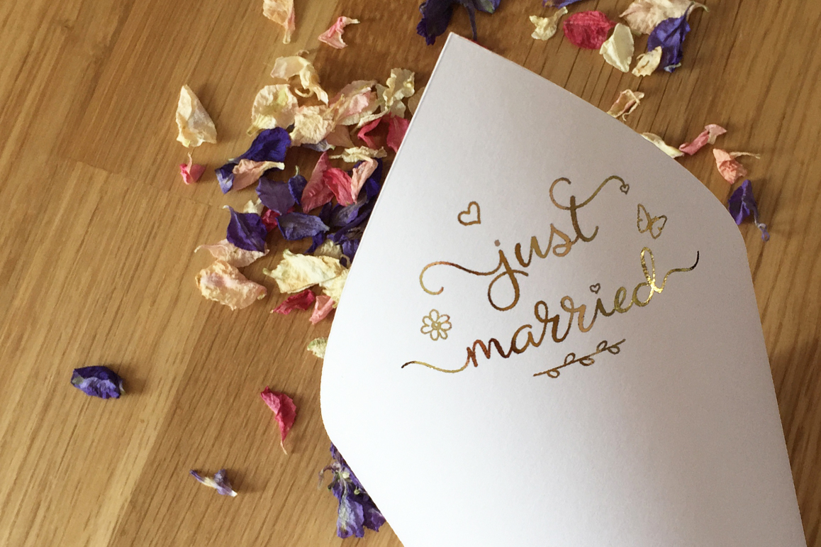 Heavenfield wedding font duo example image 5