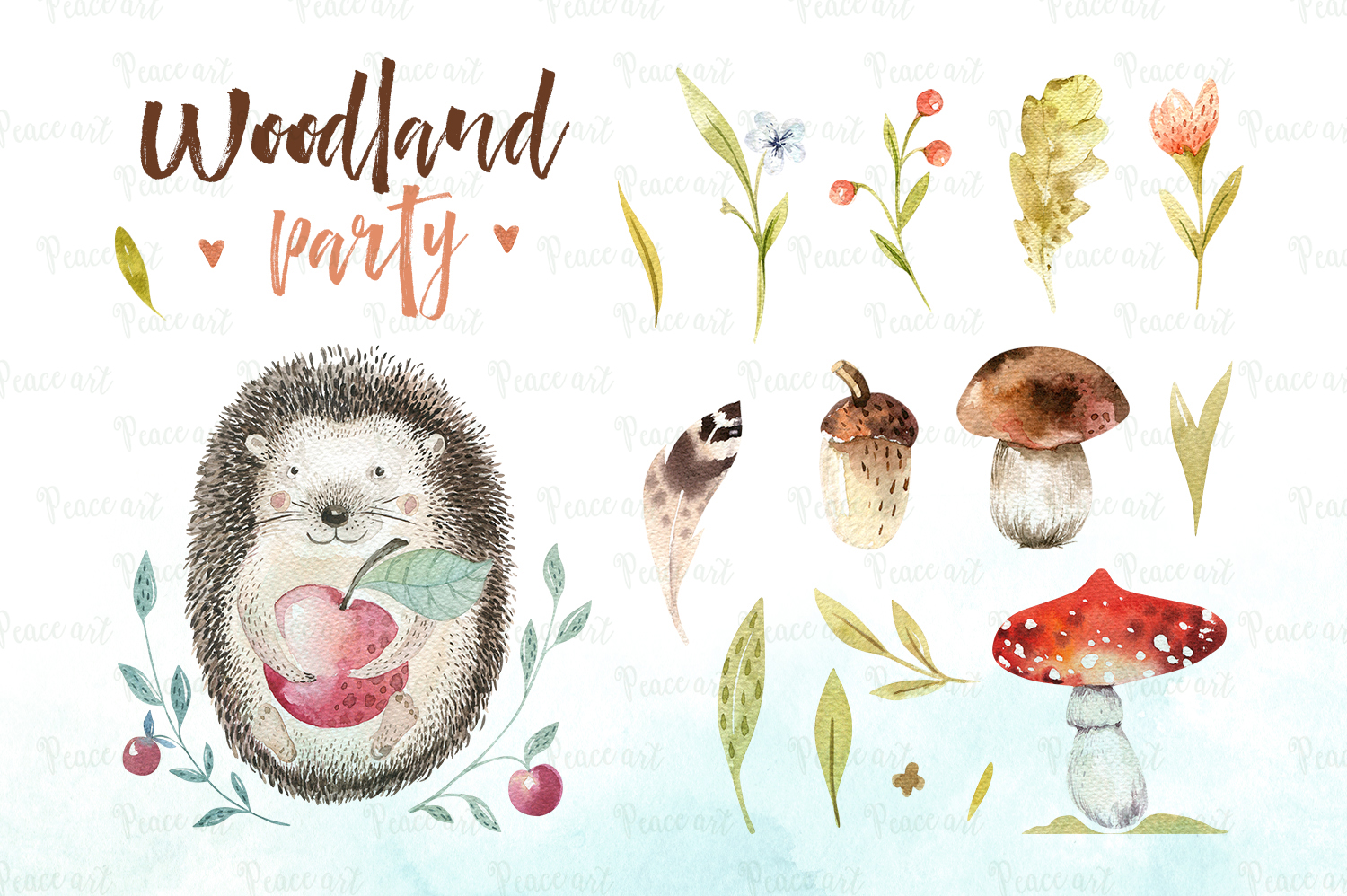 Woodland party I example image 3