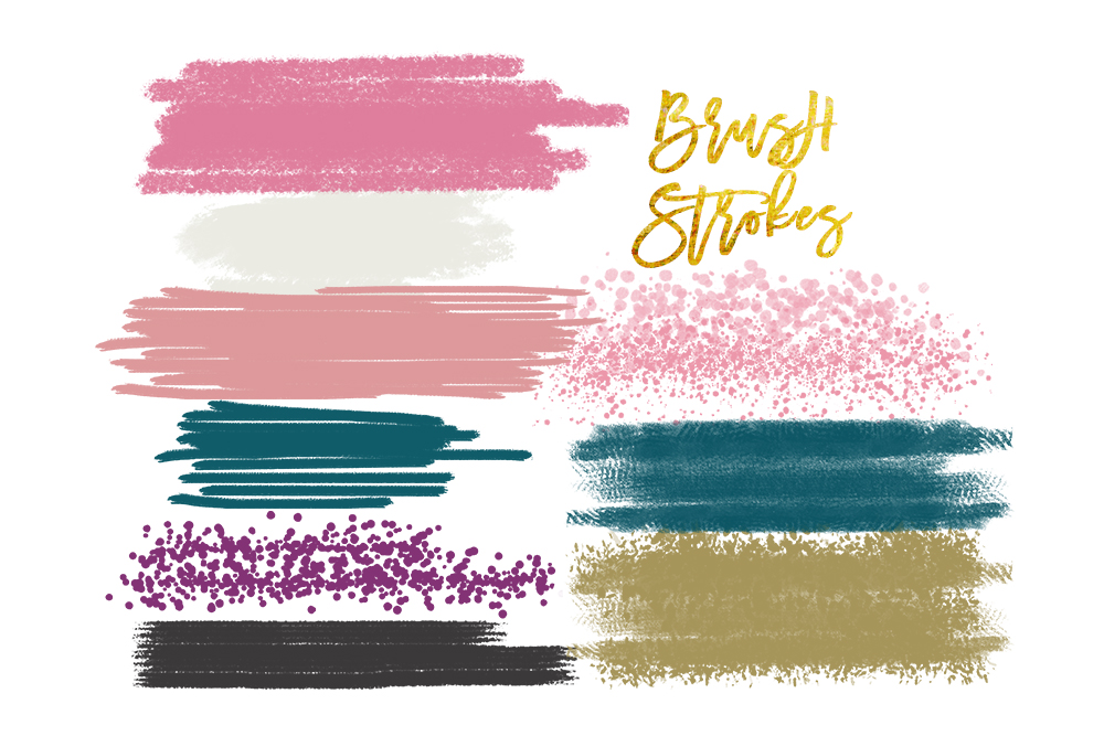 digital watercolor brush strokes acryl design bundles rh designbundles net brush stroke clipart free free download brush stroke clipart