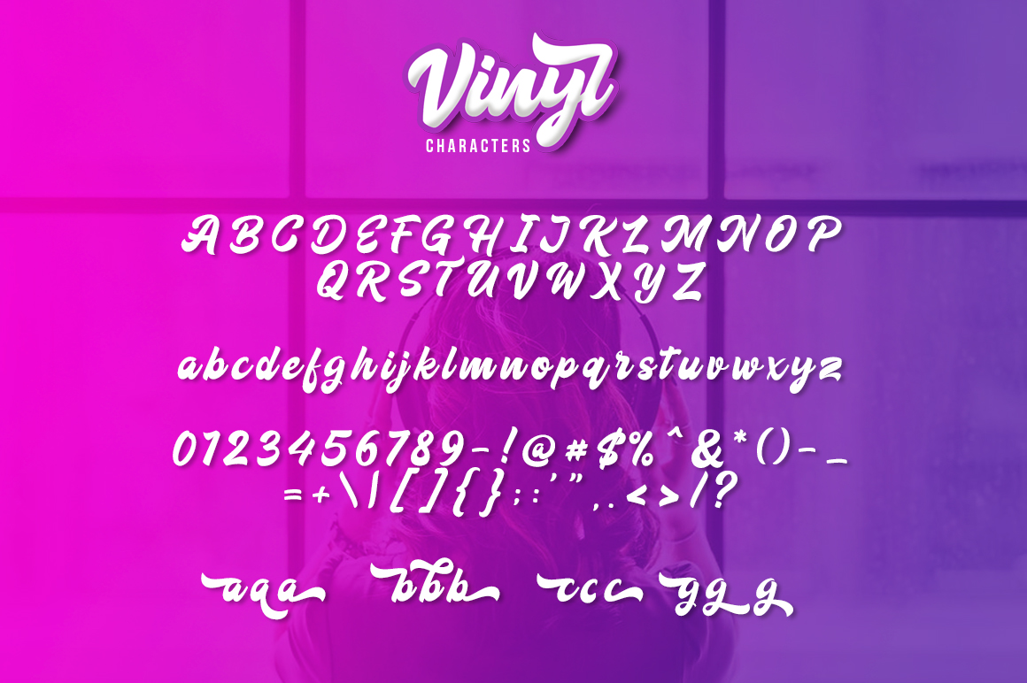Vinyl Script example image 6