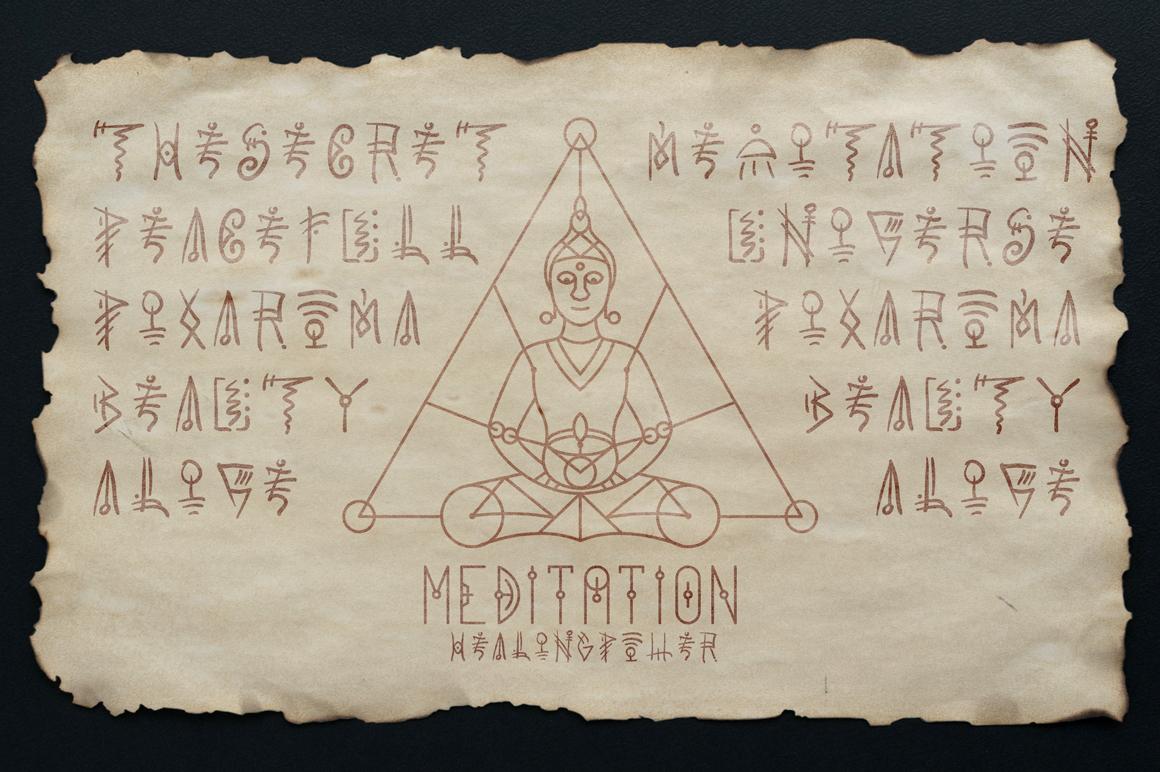 100 Sacred Geometry Symbols  example image 13