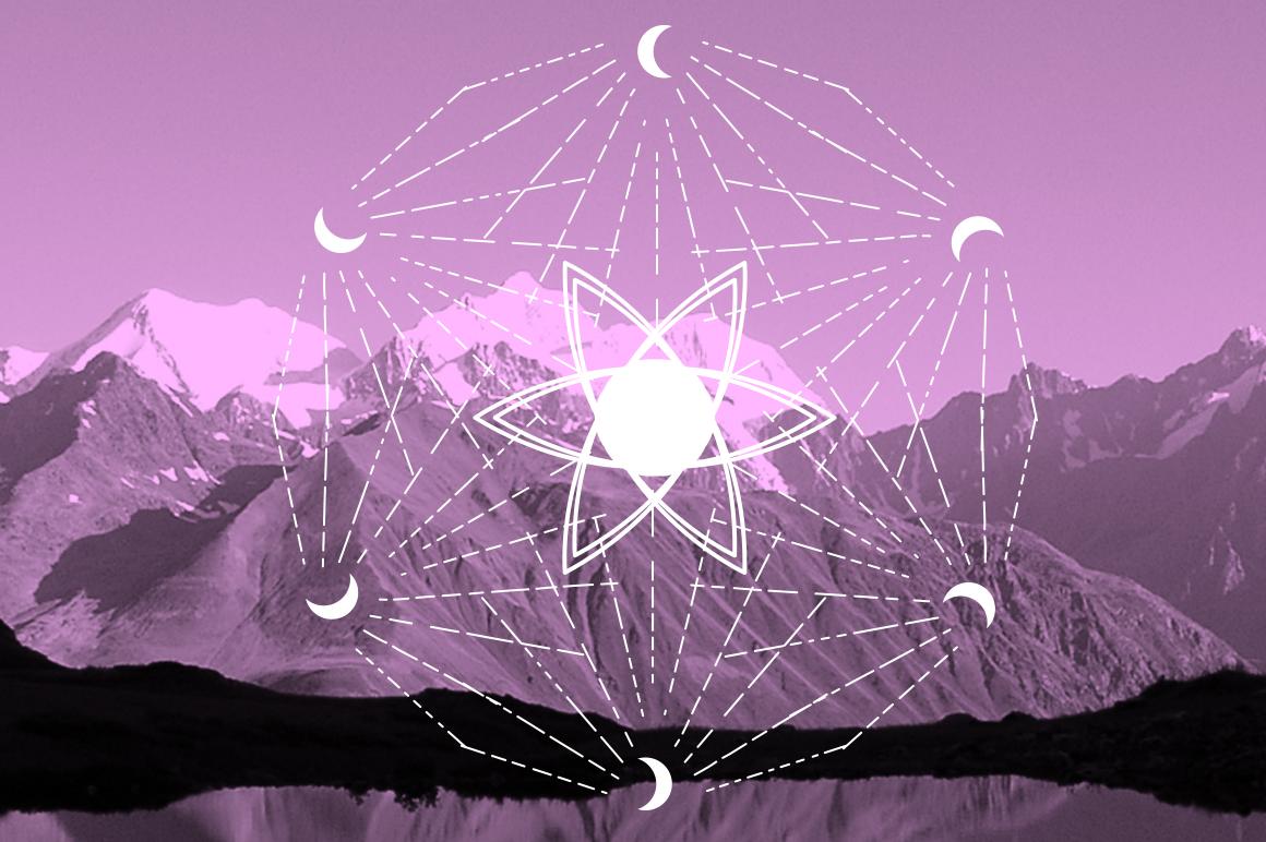 16 Sacred symbols  example image 7