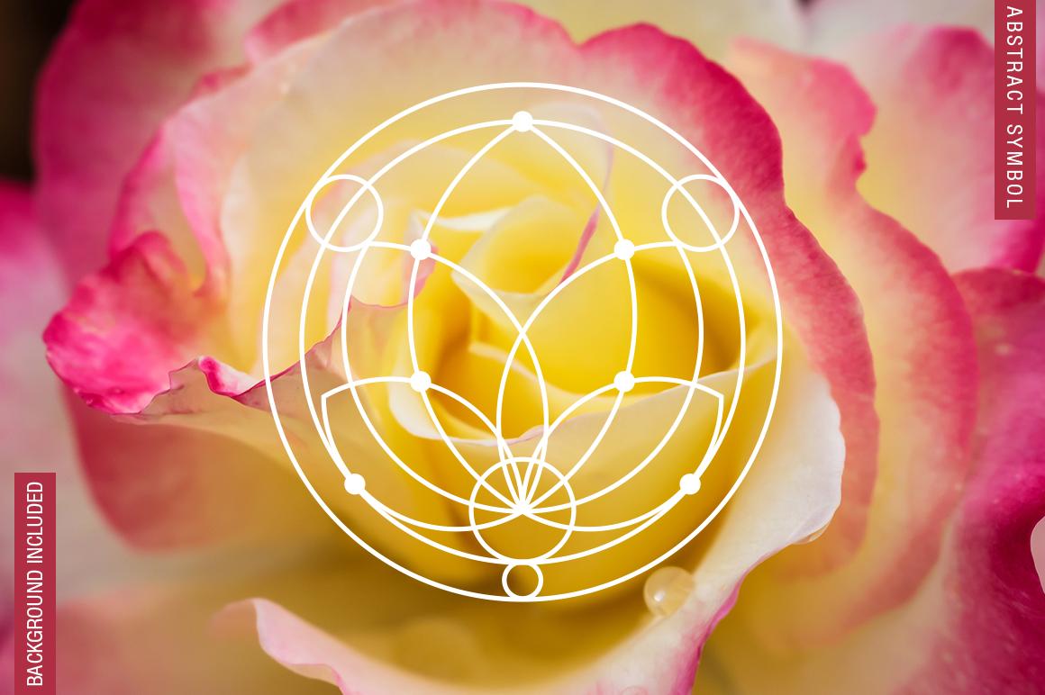 100 Sacred Geometry Symbols  example image 16