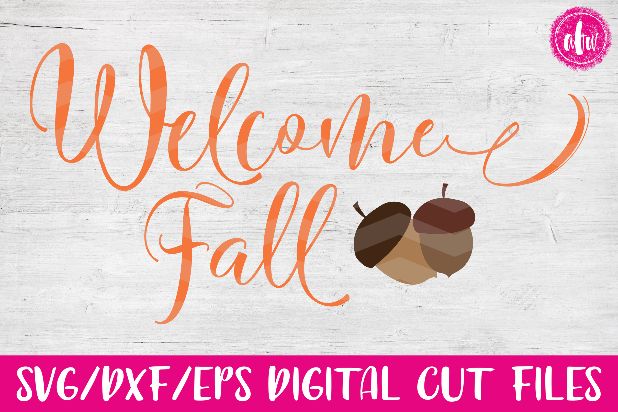 Fall Bundle - SVG, DXF, EPS Cut Files example image 12