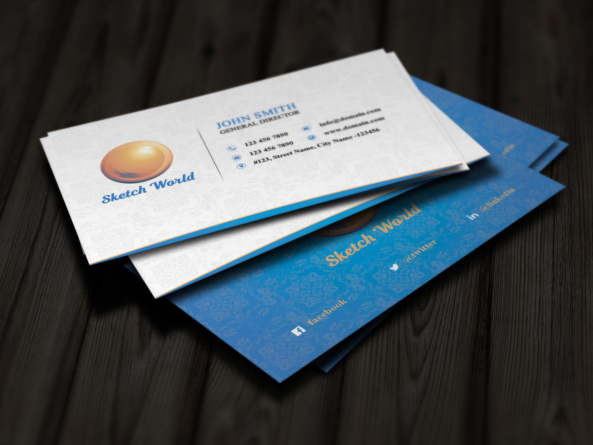 Creative Business Card Design by websk   Design Bundles