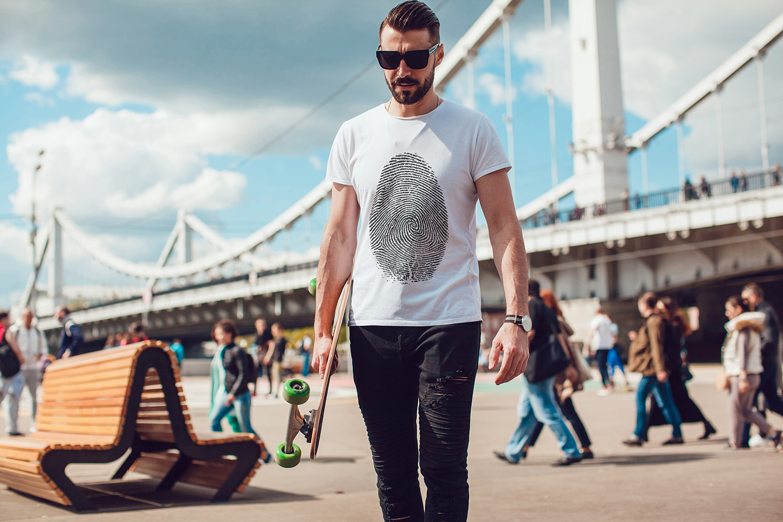 Men's T-Shirt Mock-Up Vol.3 2017 example image 11