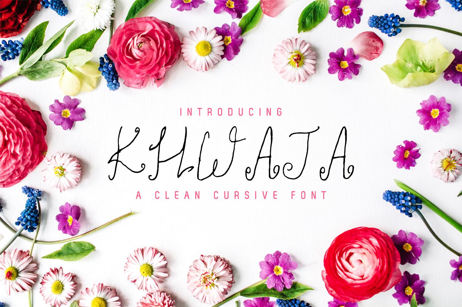 Khwaja Script Typeface example image 1
