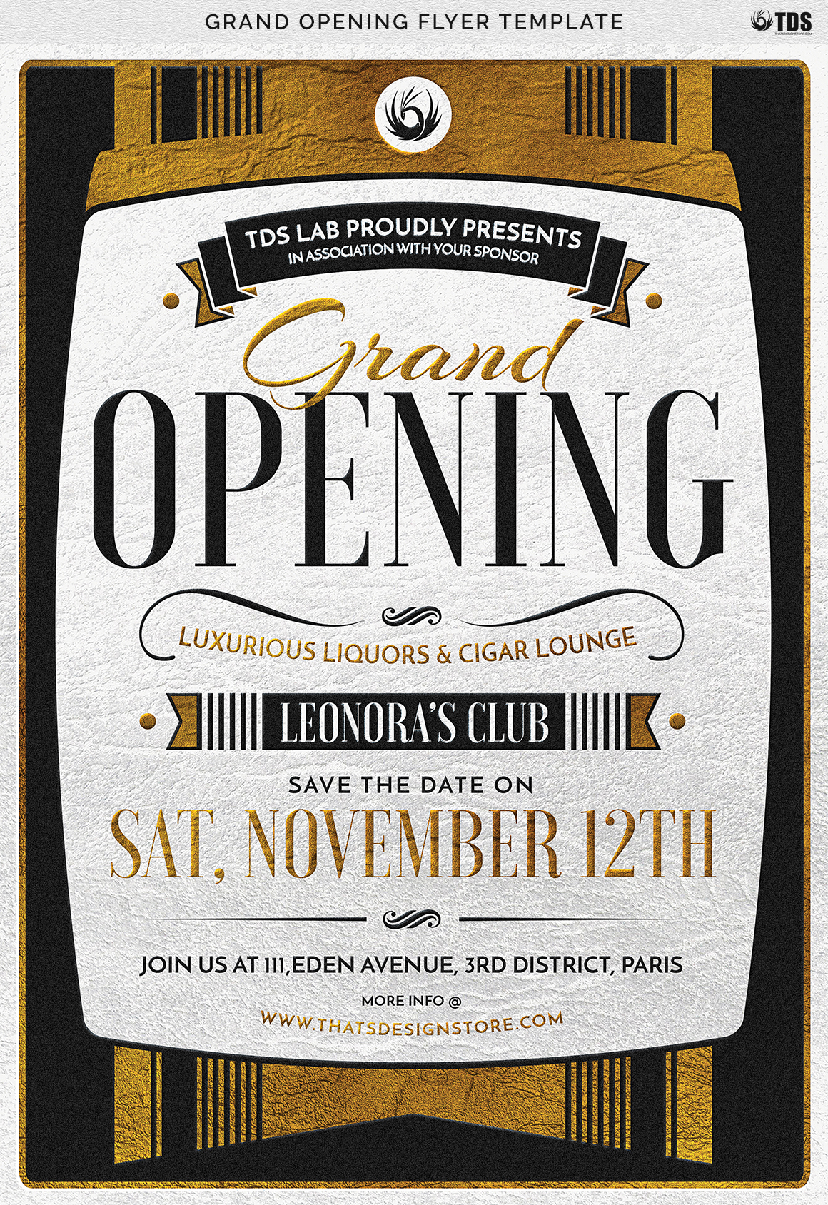 Grand Opening Flyer Template example image 9