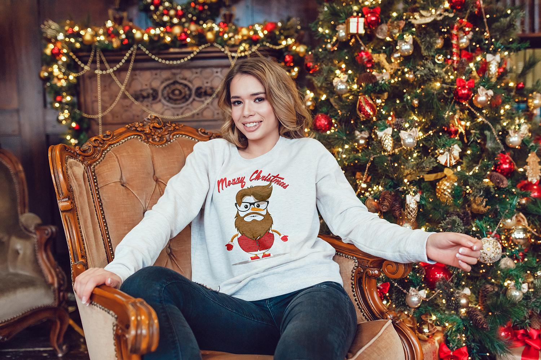Christmas Sweatshirt Mock-Up example image 10