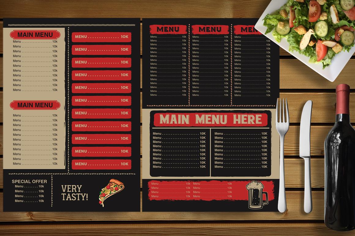 Restaurant Menu example image 5